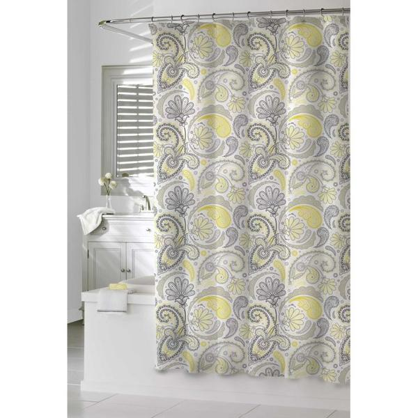 deluxe floral patterns in shower curtain square tub white color  bathroom vanity with sink Bed Bath and Beyond Shower Curtains Offer Great Look