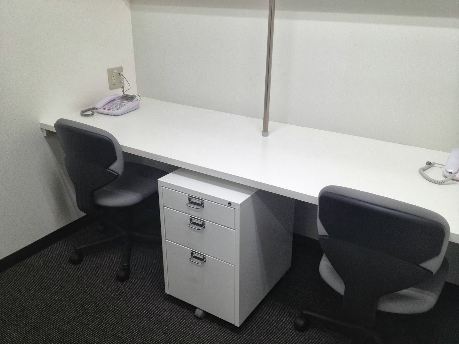 Desk For Two Persons With