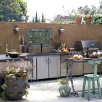 eclectic-patio with adorable cool elegant nice adorable fantastic houzz outdoor kitchen design and has modern stuffs design concept