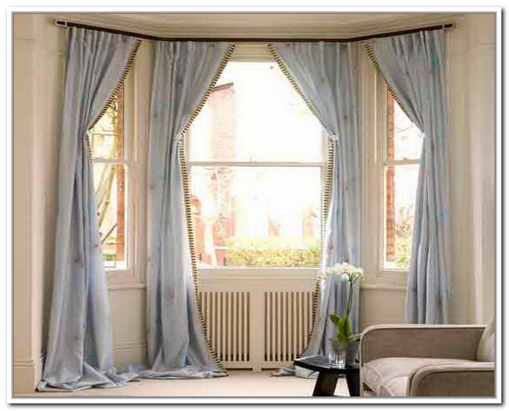 Top 2 Drapes For Bay Windows Homesfeed