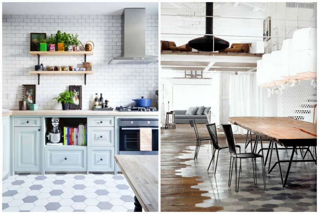 the best concept of honeycomb floor tile design homesfeed