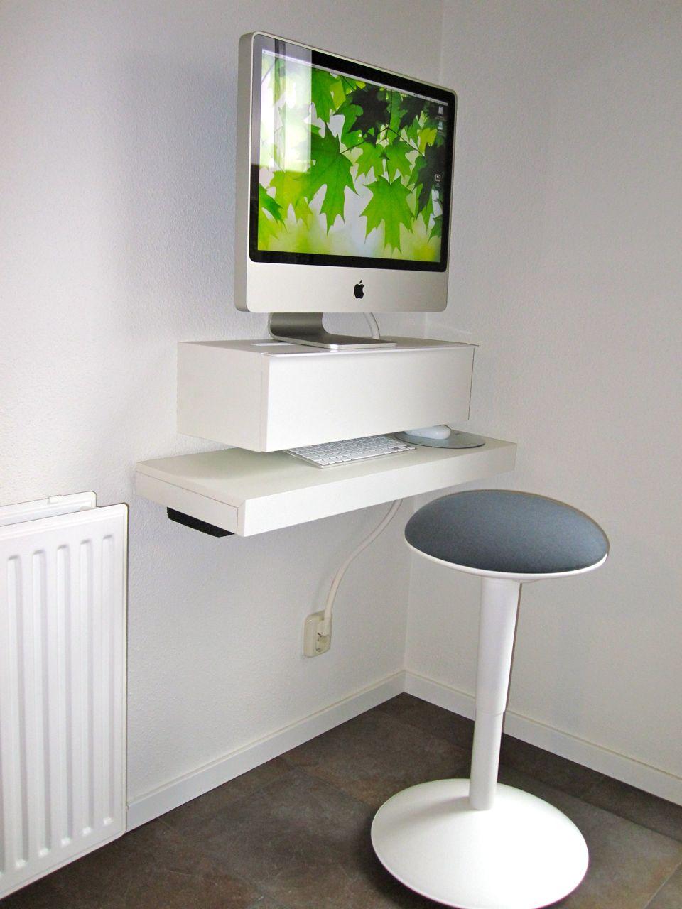 Slim Computer Desk With Huge Variants Of Design