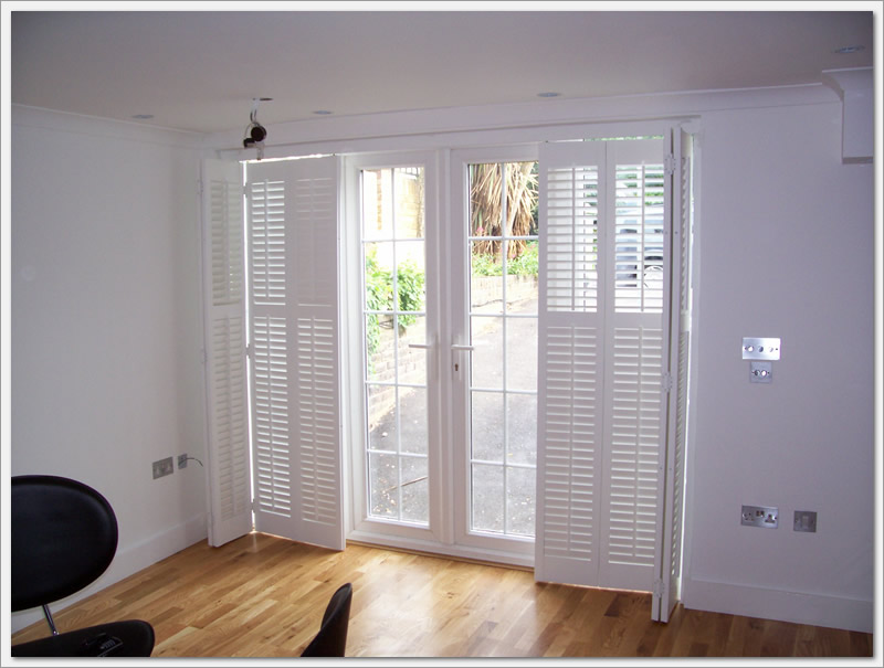 Cool And Nice Design Of Shutter For French Doors HomesFeed