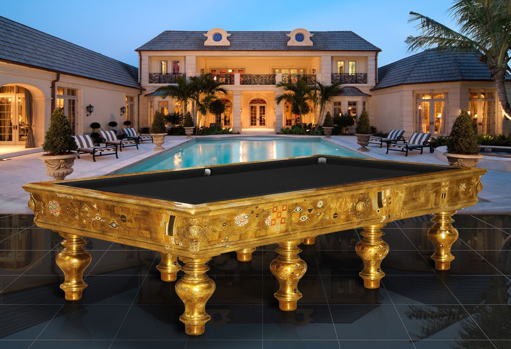 Huge Backyard Pool Table : accent private pool table with black top large outdoor pool some pool
