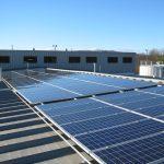 huge solar panels