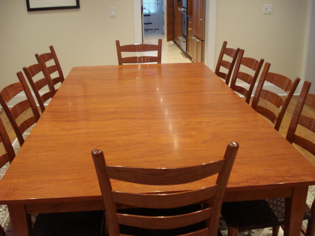 12 person dining table designs and benefits homesfeed for Dining table design photos