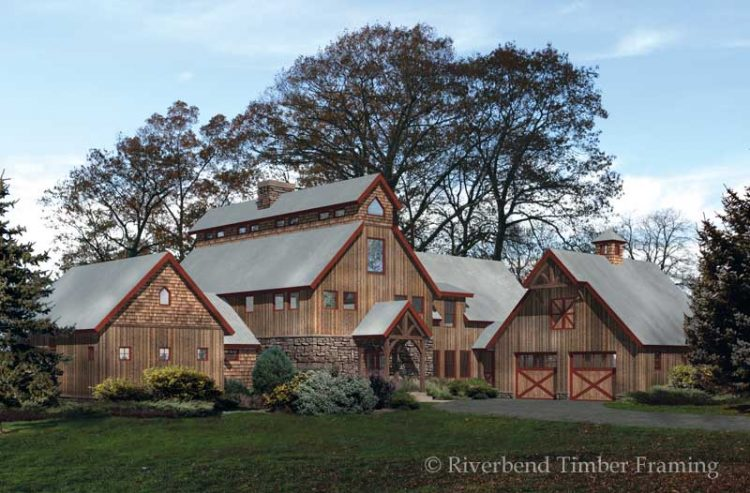 Modern and classic design of barn house for your idea for Large barn plans