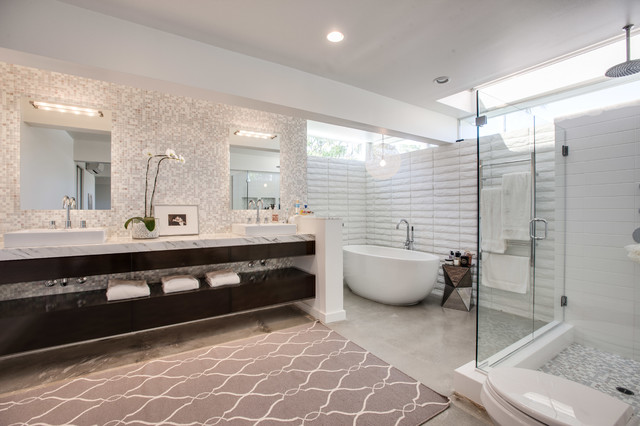 Cool And Amazing Bathroom Remodeling Mid Century HomesFeed