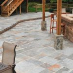 large tiles for patio that are made from fabricated natural stones a patio furniture set outdoor kitchen set