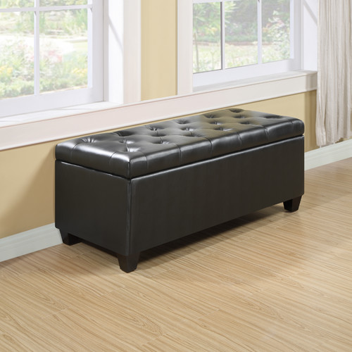 larger black leather storage Ottoman brush-wood flooring idea whiite window  drape glass windows with - Be More Creative By Making Your Own Unique File Storage Ottoman