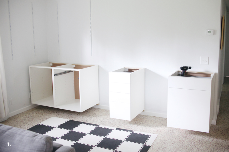 Make a standing desk manually to afford a healthy working for Build your own floating desk
