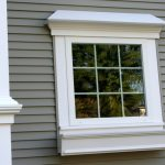 luxurious outside trim idea for window