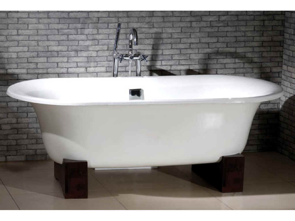 Remodel your private bathroom with luxurious victoria and for Built in clawfoot tub