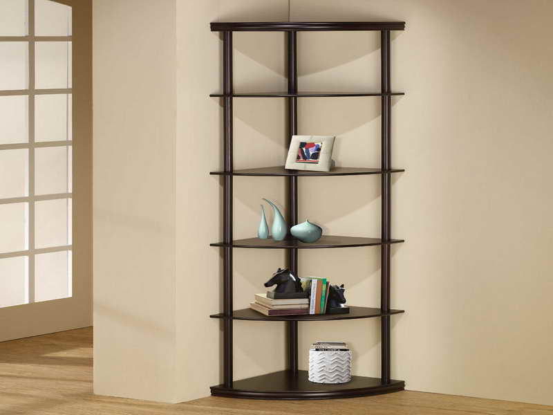 Corner bookshelf ikea efficient interior storage homesfeed for Modern corner bookshelf
