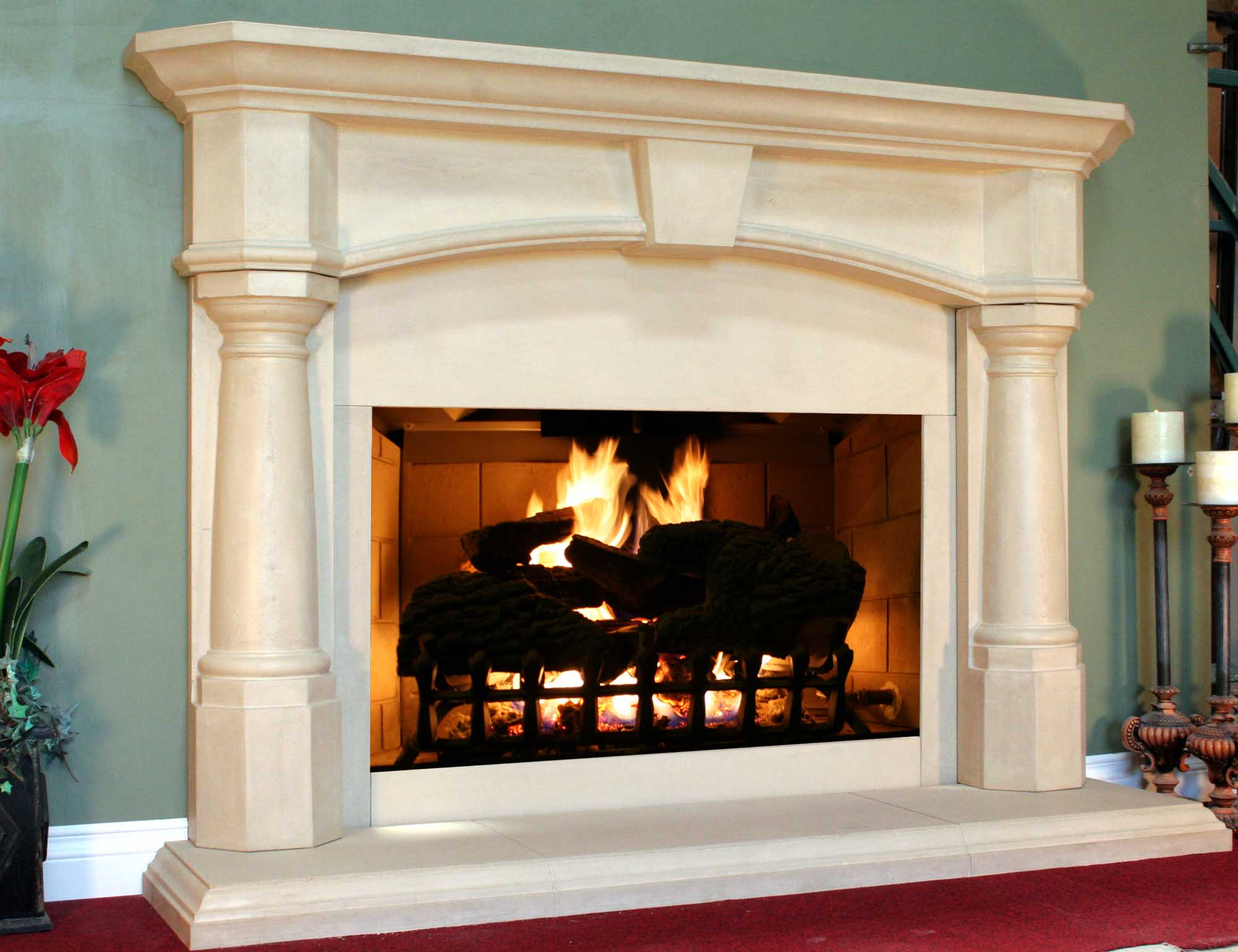 wonderful fireplace mantel design and decoration homesfeed. Black Bedroom Furniture Sets. Home Design Ideas