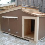 modern cool amazing nice adorable fantastic simple small l cool dog house idea with wooden concept design brown color design