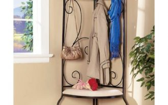modern-creative-nice-adorable-cool-great-corner-entryway-bench-with-metal-frame-concept-design-and-has-small-seat-surface-with-high-back-for-hanging-something