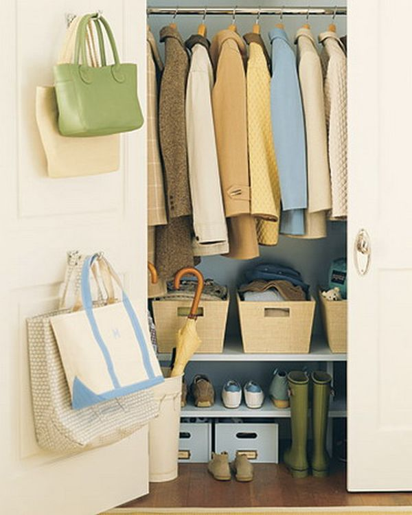 Mounted Back Door Handbag Organizer Hanging Clothes Arranger On The  Cupboard Shoes Organizer