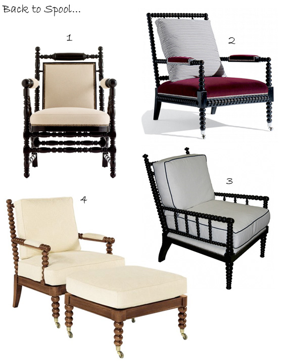 Many Variants Color of Spool Chairs HomesFeed