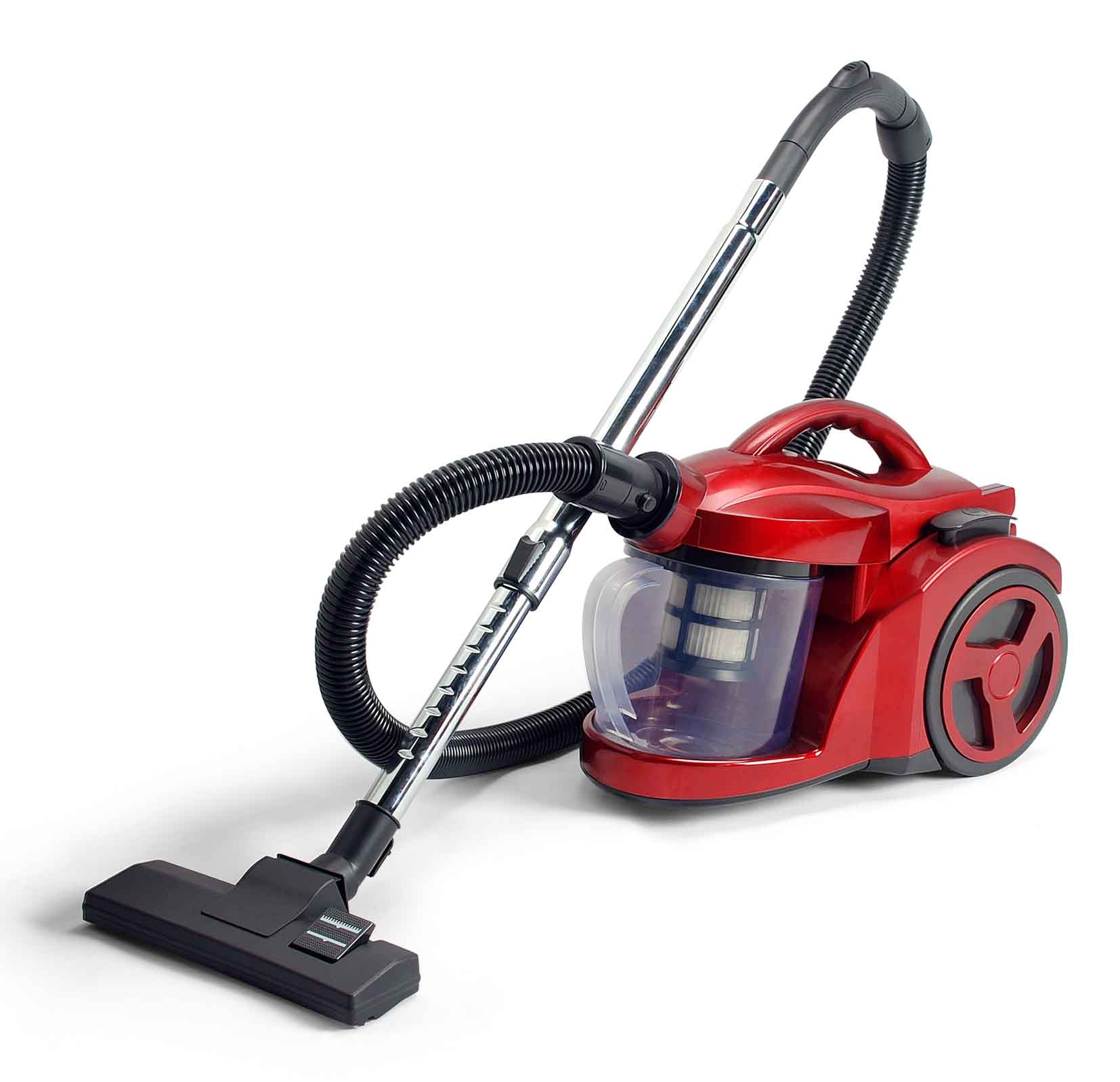 Nice adorable cool wonderful fantastic modern vacuum cleaner with red