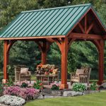 Nice Adorable Fresh Forestly Awesome Green Outdoor Pavilion Plan With Link Alpine Pavilion Concept And Small Design Classic With Nice Furniture