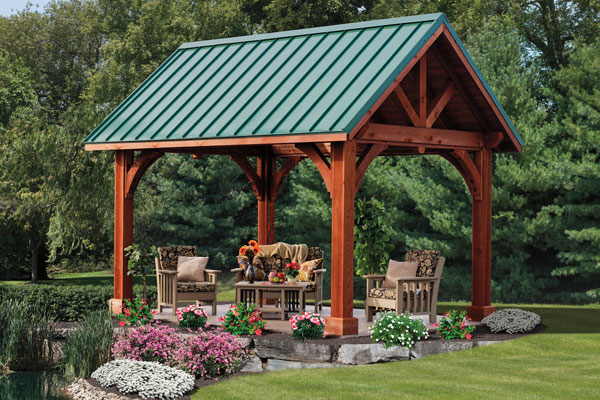 nice adorable fresh forestly awesome green outdoor pavilion plan with  link-alpine-pavilion concept - Wonderful Concept Of Outdoor Pavilion Plan With Nice View HomesFeed