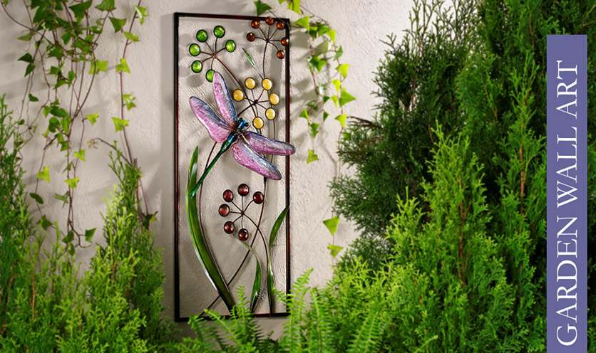 garden wall decoration  makipera, Garden idea