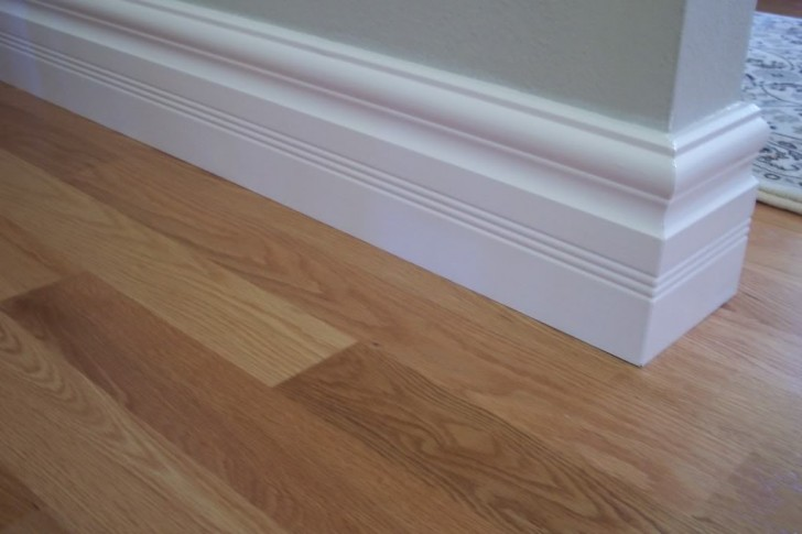 Adorable options of baseboard styles room homesfeed for Modern baseboard molding styles
