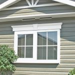 nice wonderful cool amazing creative outdoor window trim with double window concept design made of wood in white accent