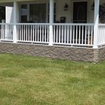 Permanent Bricks Wall System For Under Porch