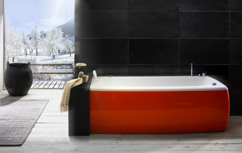 Colored Bathtubs Options   HomesFeed