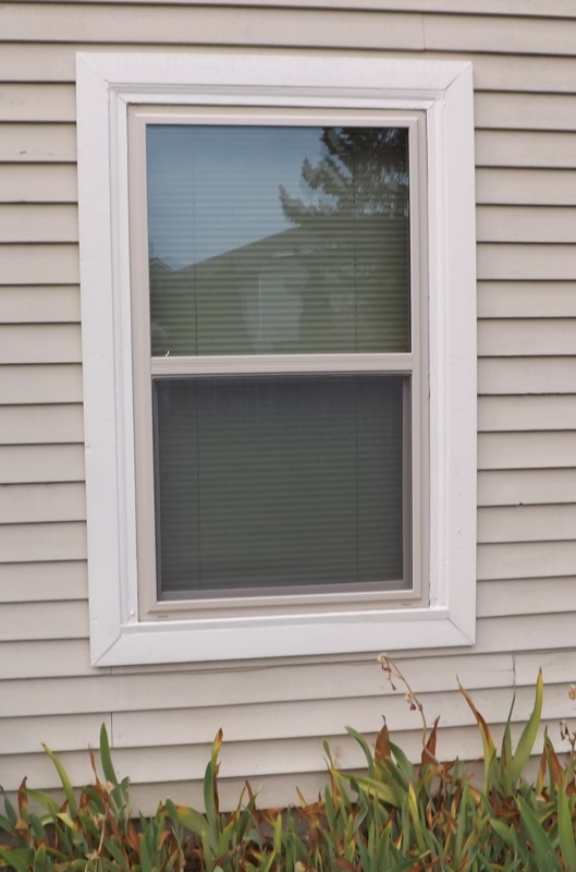 Simple And Casual Look Of Outdoor Window Trim In White Color Part 11