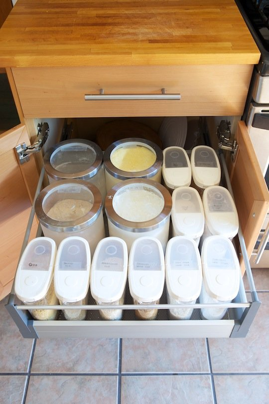 Ikea Pull Out Pantry And Slide Out Pantry Which One Do You Choose Homesfeed