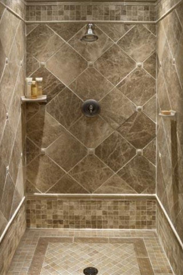 Tiled Shower Stalls, Create Distinctive and Stylish Shower Zone ...