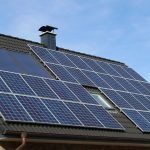 solar panels for country house style