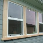 solidwood window trim part for outdoor