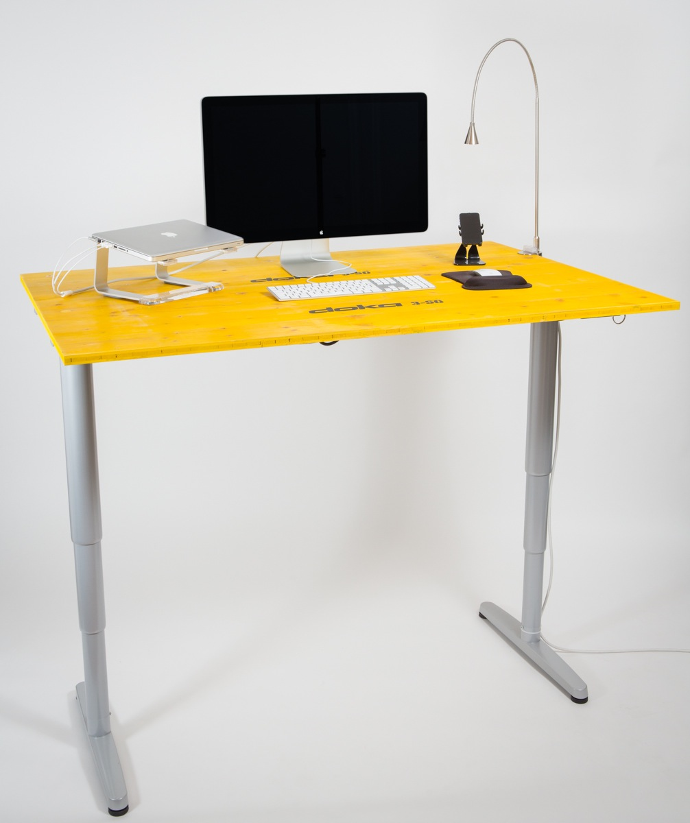 Schreibtisch ikea  Ideal and Prefect Standing Workstation Ikea | HomesFeed