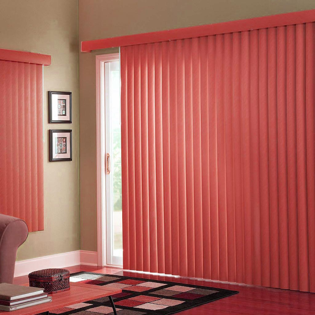 Window treatment for sliding glass door homesfeed for Window treatments for door walls