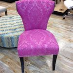 Sweet Purple Reading Chair Made By Cynthia Rowley