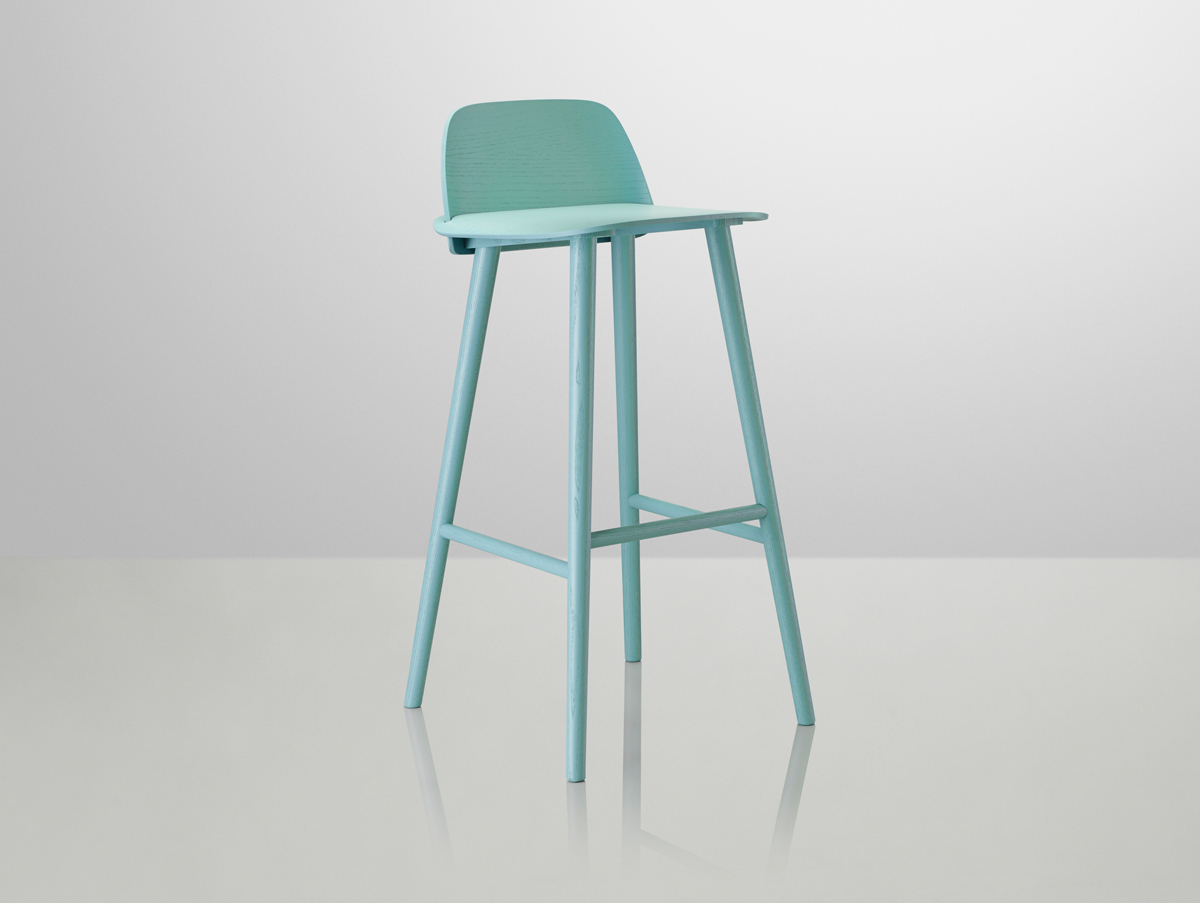 Turquoise Bar stools Brighten Your Kitchen Bar