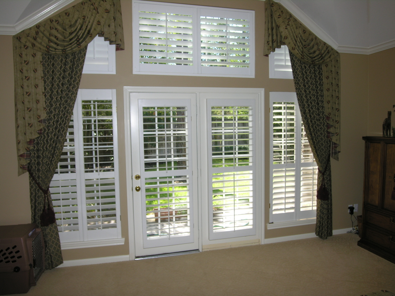 Shutters doors wonderful nice adorable cool amazing for Large french doors