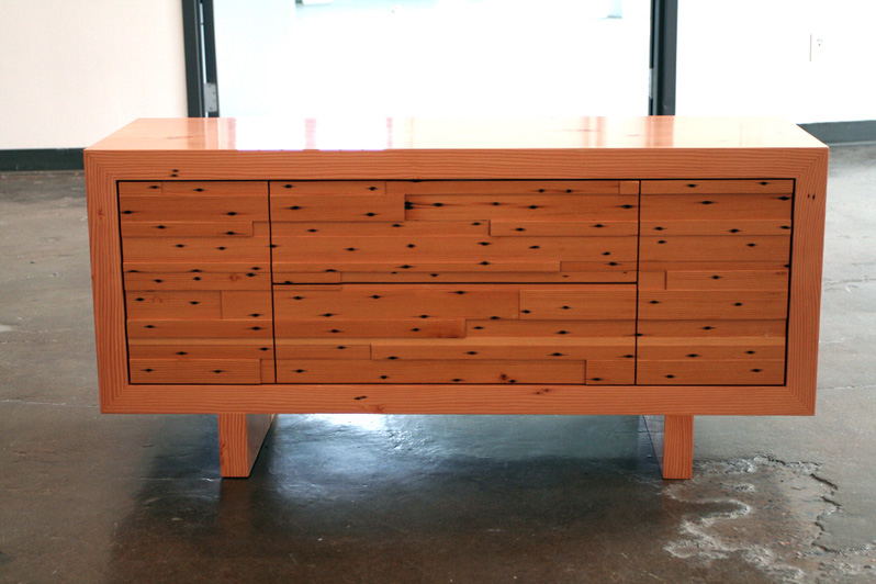 very unique style of credenza furniture with black spots decoration. What Is A Credenza  Here We Have the Answer   HomesFeed