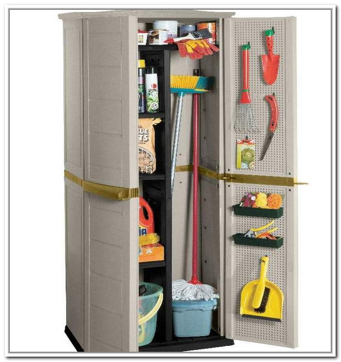 ... cabinet for your broom and other tall items broom closet cabinet
