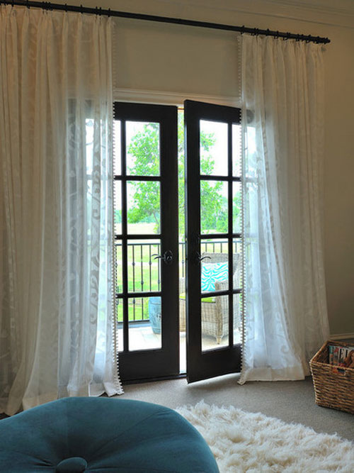 Lace And Curtains The Best Window Treatment For French