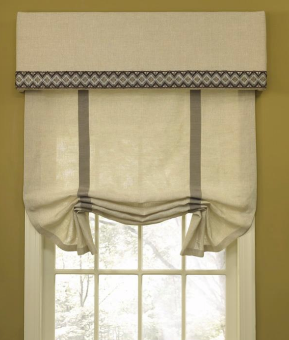 Outside Mount Roman Shades, They Mustn't Expensive | HomesFeed