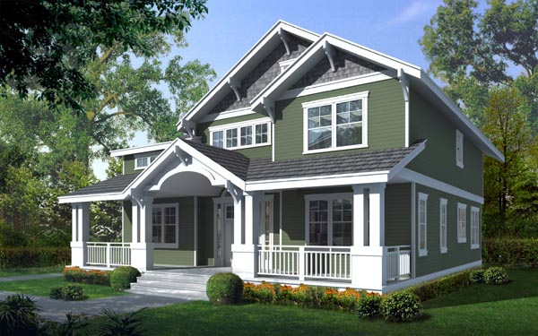 Awesome design of craftsman style house homesfeed for Craftsman style home builders