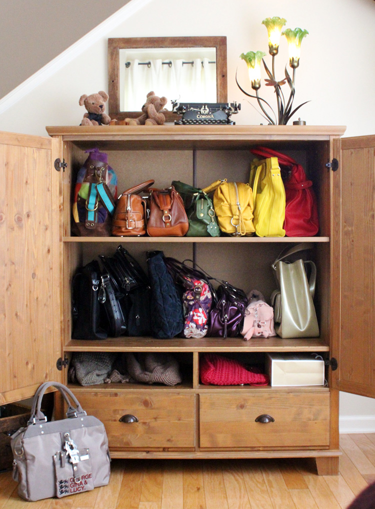 The Best Design Of Handbag Storage For You Homesfeed