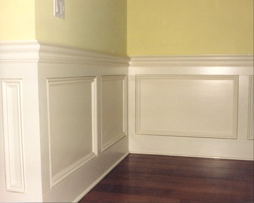 Bon Wonderful Cool Amazing Fantastic Nice Nice Chair Rail Molding Idea With  Full White Accent Made Of