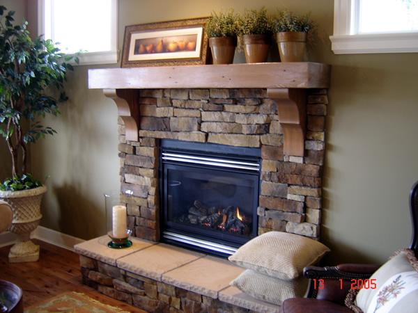 Wonderful Fireplace Mantel Design and Decoration   HomesFeed
