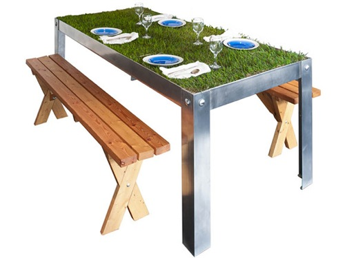 picnic table metal frame choice image - table decoration ideas